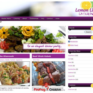 lemon lime catering
